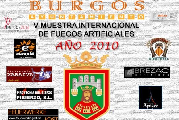 Calendario de Fuegos Burgos 2010