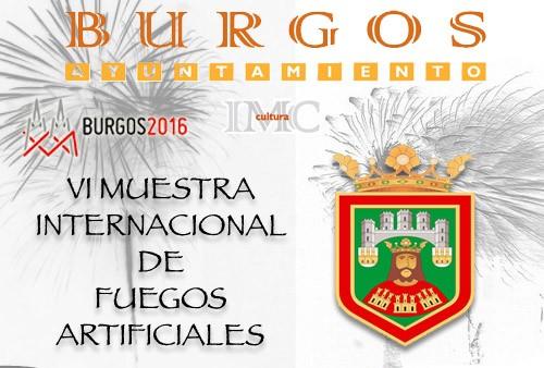 Bases VI Muestra Internacional de Fuegos de Burgos