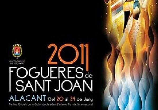 Calendario Fogueres Alicante 2011