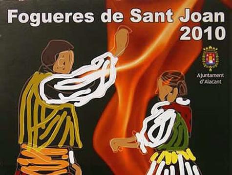 Calendario Fogueres Alicante 2010