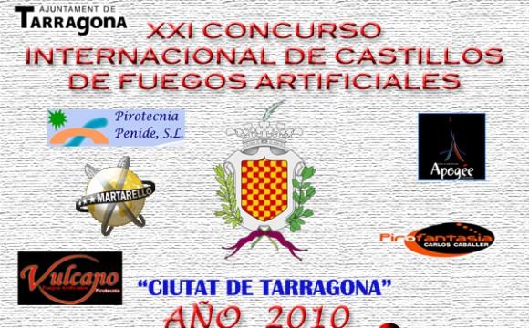 Calendario de Fuegos Tarragona 2010
