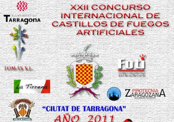 Calendario de Fuegos Tarragona 2011
