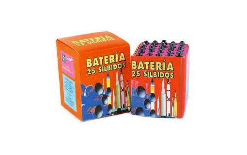 Bater�a 25 silbidos