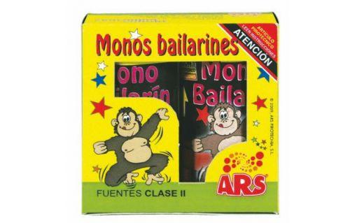 Monos bailarines